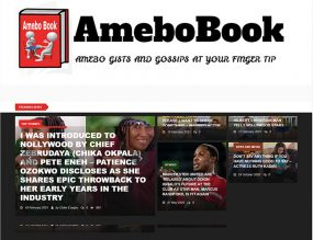 Amebobook - Gossip and Celebrities Website