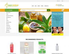 Micky Skincare - Skin care shopping website